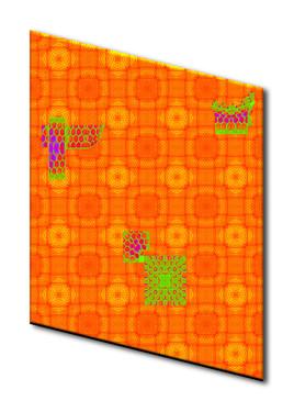 """Impression Numérique  """"Orange"""""""