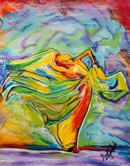 Danse de couleurs