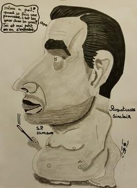 Augustus Sinclair Caricature