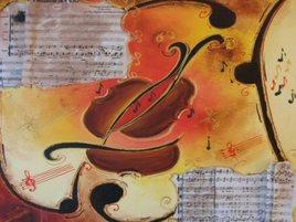Les violons chantent et dansent