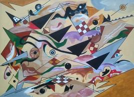 série Clin d'Oeil à Kandinsky