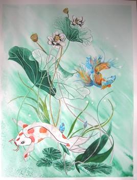 « Chitei, ou le jardin-mare »