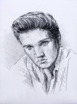 Portrait d'Elvis Presley 3