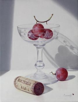 Les raisins et le bouchon (18cm x 14cm) 0F