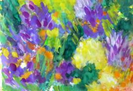 Dans les jardins de Monet