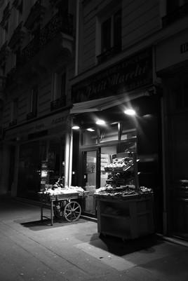 Vieille boutique à Montparnasse