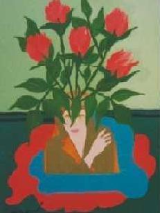 Les roses rose