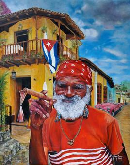 Dans une rue de la Havane
