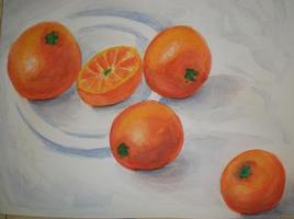 Oranges en folies
