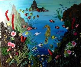 Peinture Fonds marins 4