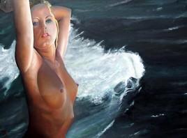 Peinture Ondine