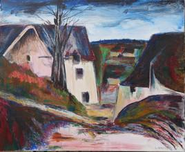 la maison du pendu d'après Cézanne