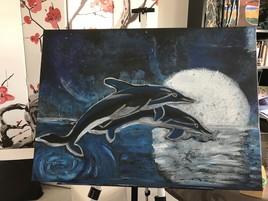 Les dauphins de la lune