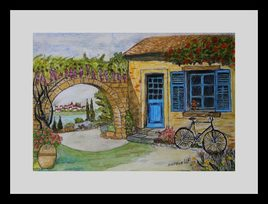 Peinture Le vélo