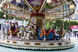 Manège : Le carrousel
