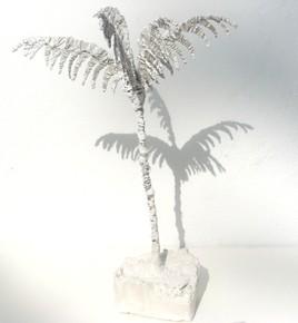 palmier en fil de fer