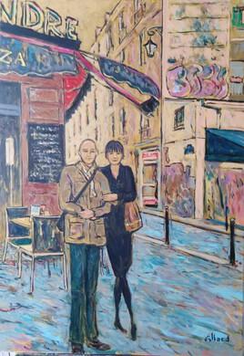 Les peintres, au quartier latin