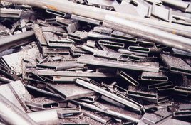 Steel before recycling