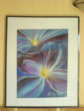 Lumière chez la fleur