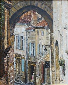 st Emillion, une rue