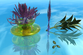 Composition florale éphémère