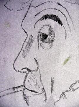 Profil fumant