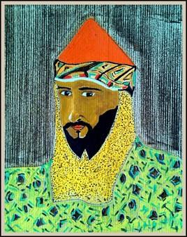Peinture Le sultan