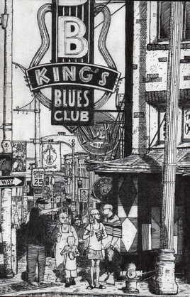 beale street, home du blues