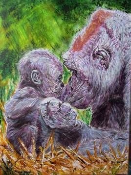 Amour de gorilles