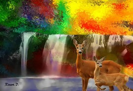 nature colorée ...