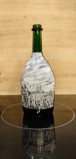 SOIR DE PLEINE LUNE EURELIEN Bouteille champagne