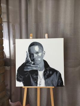 Peinture Eminem