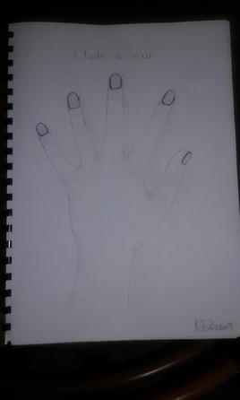 Étude de main