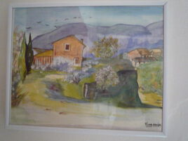 paysage provencale
