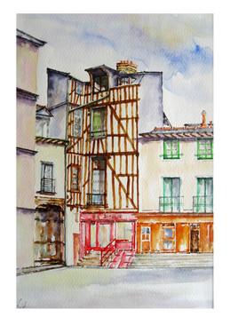 Rennes- place St Michel