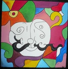 mme moustache