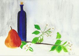La poire///l'arbre, le fruit, et la liqueur.