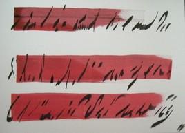 caligraphie L...