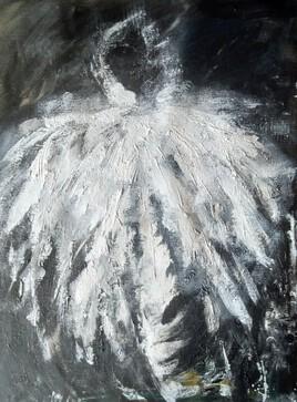 Un oiseau de lumière dans la nuit
