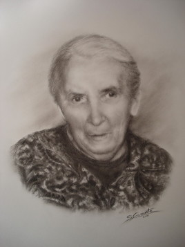 Portrait Grand-mère