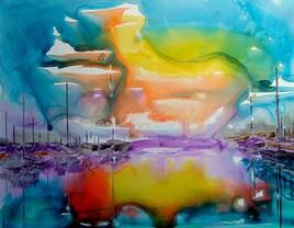 Explosion de couleur sur le port