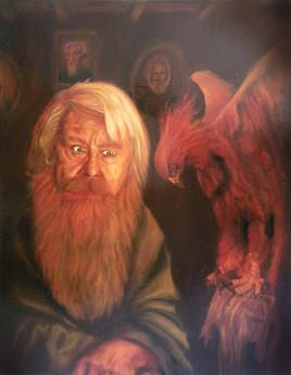 Dumbledore et phoenix