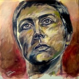 Peinture Série N portrait 02
