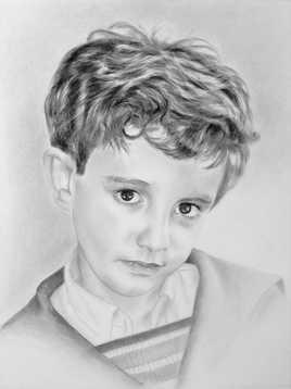 """Portrait  """"Louis"""""""