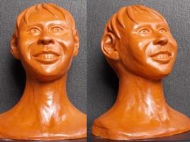 Sculpture en argile ( sculpture numéro 7 )
