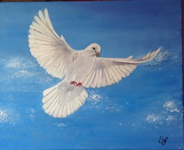 L'envol de la colombe