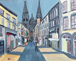 Rue des gras, Clermont Ferrand
