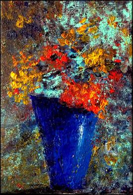 le vase bleu.