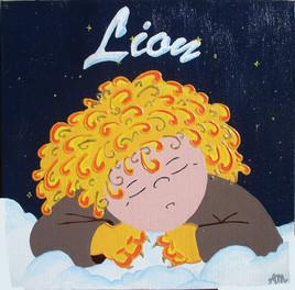 Signe astro de bébé, Lion