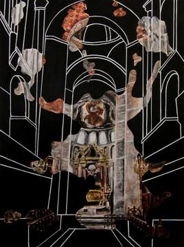 Arches et colonnes sur nos vanités baroques ne soutiennent que la lourdeur des cieux